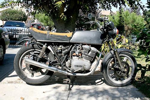 Yamaha XS 500 1976, cafe racer
